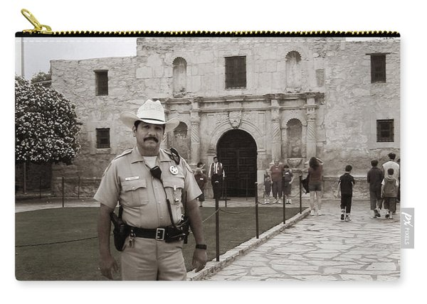 He Guards The Alamo Carry-all Pouch