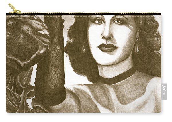 Heddy Lamar Carry-all Pouch