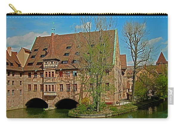 Heilig-geist-spital In Nuremberg Carry-all Pouch
