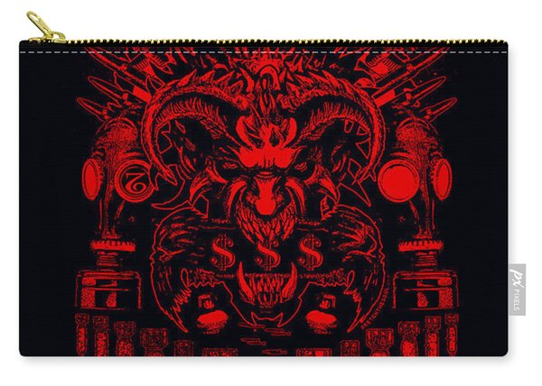 Hell Is Ur Choice Carry-all Pouch
