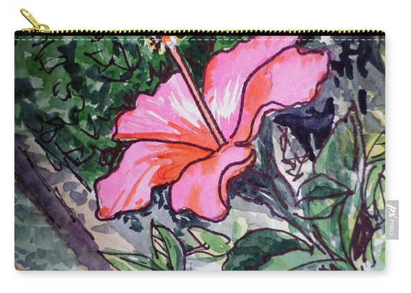Hibiscus Sketchbook Project Down My Street  Carry-all Pouch