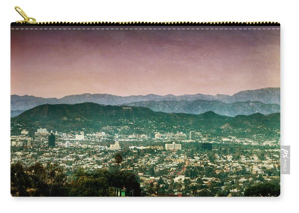 Hollywood At Sunset Carry-all Pouch