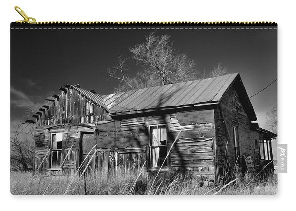 Carry-all Pouch featuring the photograph Homestead by Ron Cline