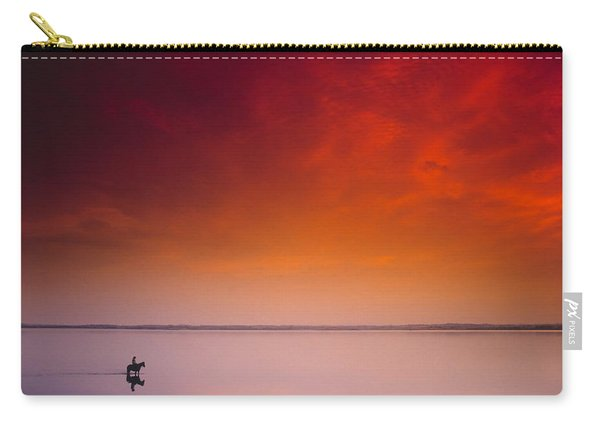 Horse Riding, Strangford Lough, County Carry-all Pouch