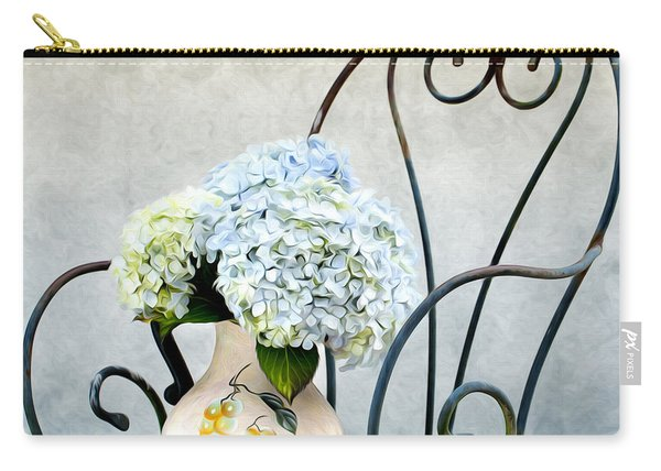 Hortensia Flowers Carry-all Pouch