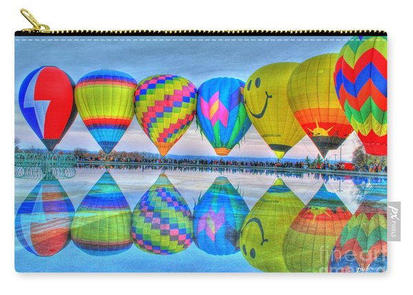 Hot Air Balloons At Eden Park Carry-all Pouch