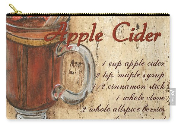 Hot Apple Cider Carry-all Pouch