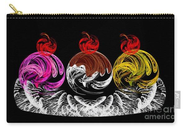Hot Fudge Ice Cream Boat Carry-all Pouch