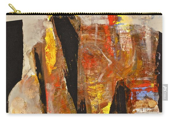 Carry-all Pouch featuring the painting I Do What Hindu by Cliff Spohn