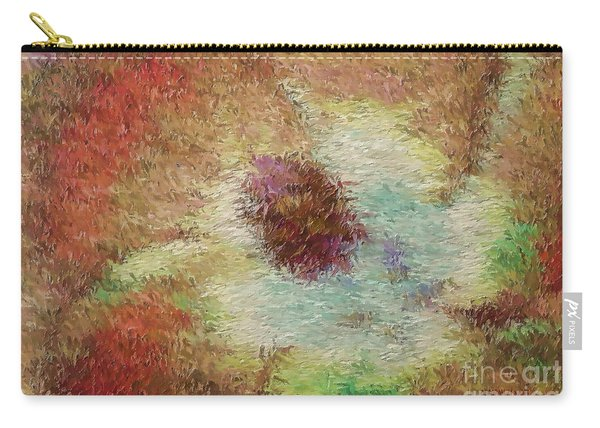 Impressionistic Hibiscus Carry-all Pouch