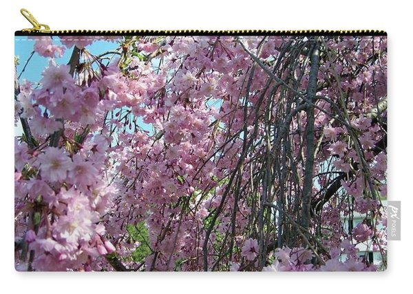 Carry-all Pouch featuring the painting In Bloom by Cynthia Amaral
