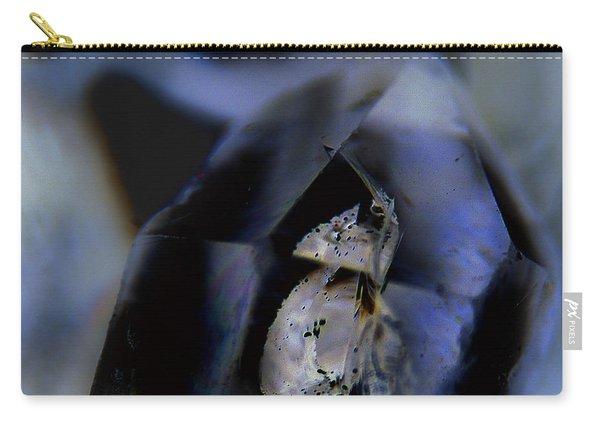 Indigo Quartz Crystal Carry-all Pouch