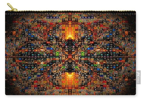 Infinity Mosaic Warm Carry-all Pouch