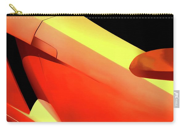 Italian Abstract Carry-all Pouch