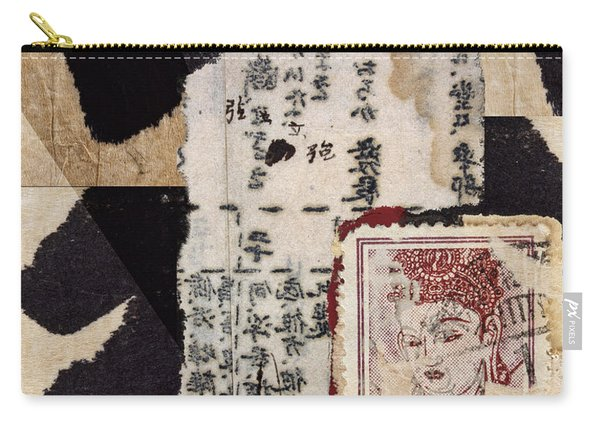 Japanese Papers Carry-all Pouch