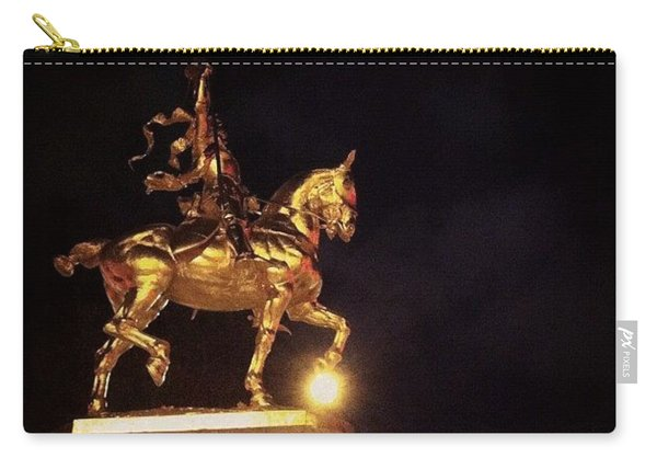 Jeanne D'arc And A Single Star Carry-all Pouch