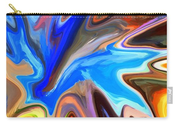 Just Abstract II Carry-all Pouch