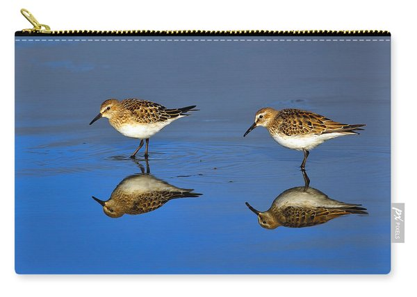 Juvenile White-rumped Sandpipers Carry-all Pouch