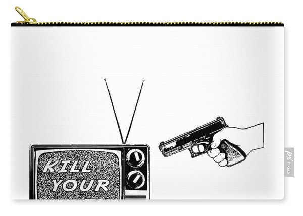 Kill Your Tv Carry-all Pouch