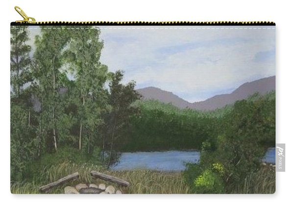 Kootenay Lake Bc Carry-all Pouch
