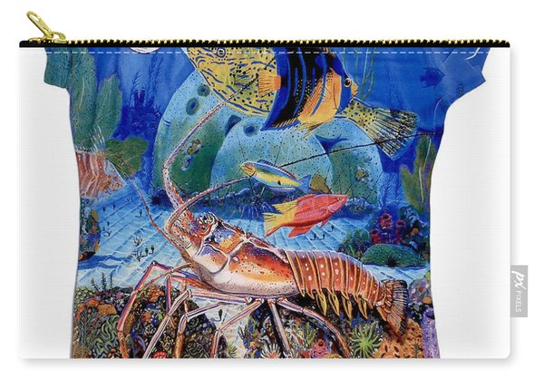 Ladies Lobster Reef Shirt Carry-all Pouch