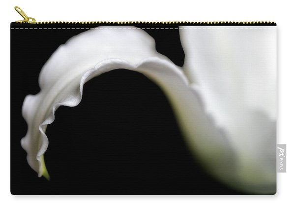 Lily Petal From A Side View Carry-all Pouch