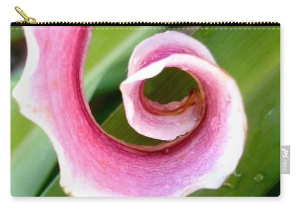Lily Spiral Carry-all Pouch