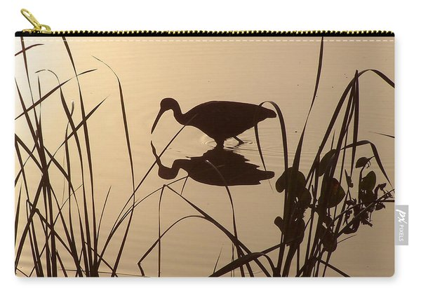 Limpkin At Dawn Carry-all Pouch