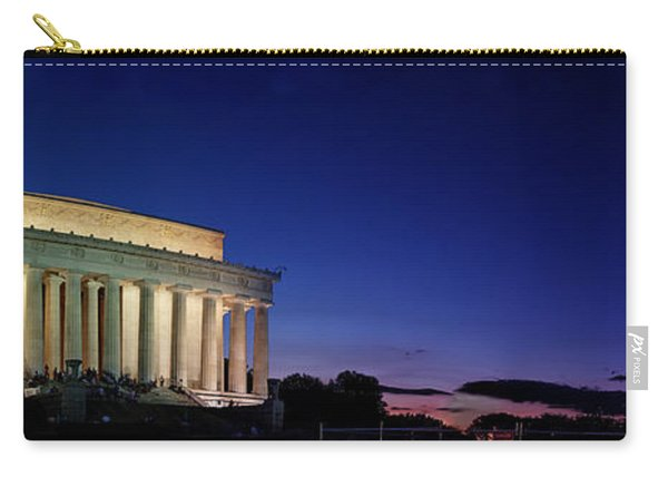 Lincoln Memorial At Sunset Carry-all Pouch