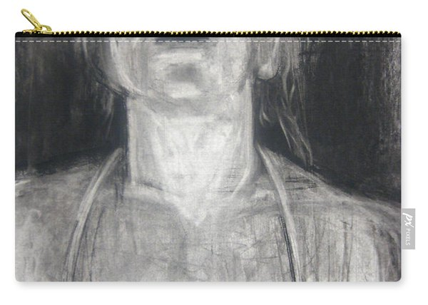 Carry-all Pouch featuring the drawing Lit by Gabrielle Wilson-Sealy