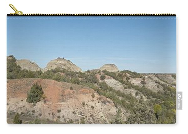 Little Badlands Missouri Panorama1 Carry-all Pouch