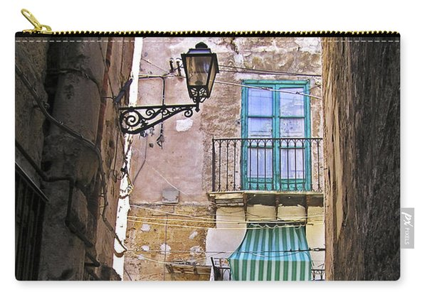 Little Street Of Palermo Carry-all Pouch