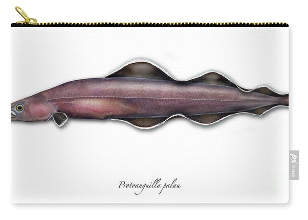 Living Fossil Eel - Protoanguilla Palau - Isle Of Palau Carry-all Pouch