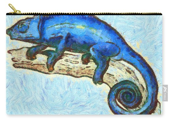 Lizzie Loved Lizards Carry-all Pouch
