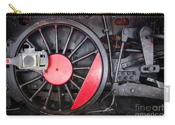 Locomotive Wheel Carry-all Pouch