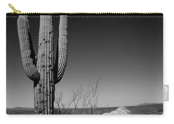 Lone Saguaro Carry-all Pouch
