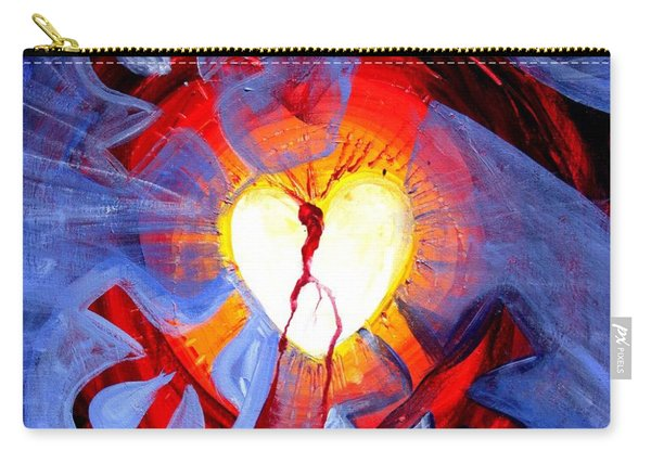 Love - In Three ... For All Carry-all Pouch