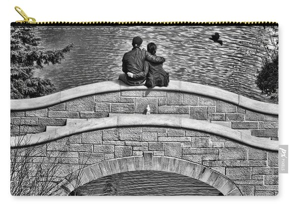 Lovers On A Bridge  Carry-all Pouch