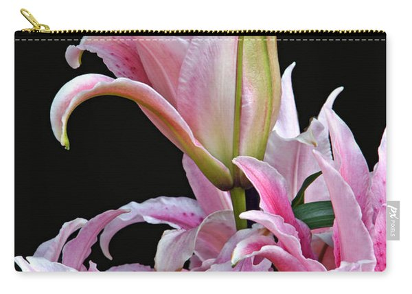 Luscious Lilies Carry-all Pouch