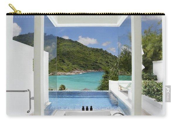 Luxury Bathroom  Carry-all Pouch