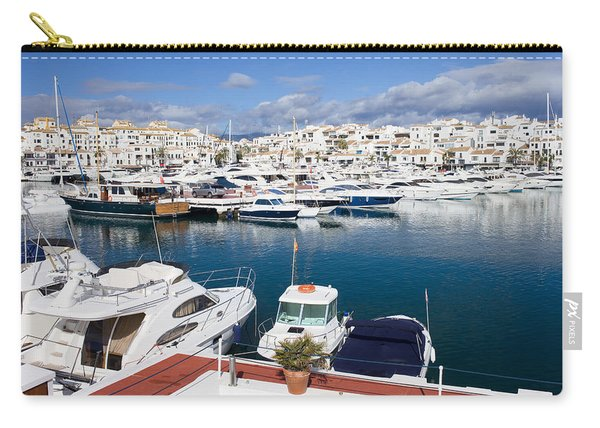Marina In Puerto Banus Carry-all Pouch