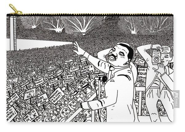 Martin Luther King Drawing Carry-all Pouch