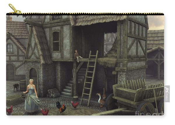 Medieval Idyll Carry-all Pouch
