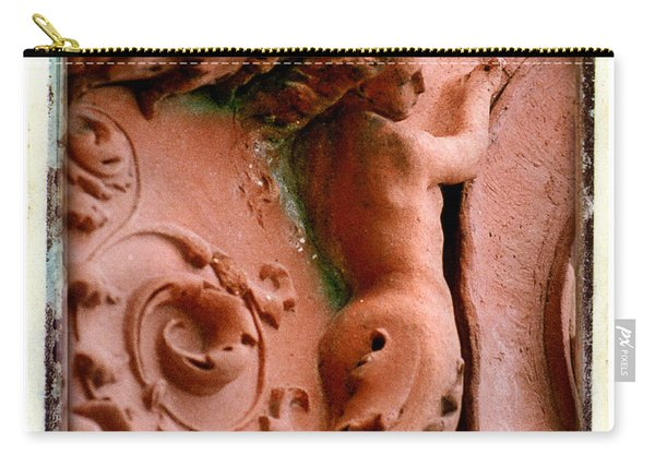 Mermaid Back Carving Carry-all Pouch