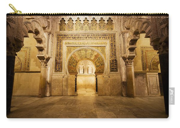 Mezquita Mihrab In Cordoba Carry-all Pouch