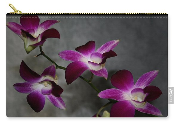 Miniature Orchids Carry-all Pouch