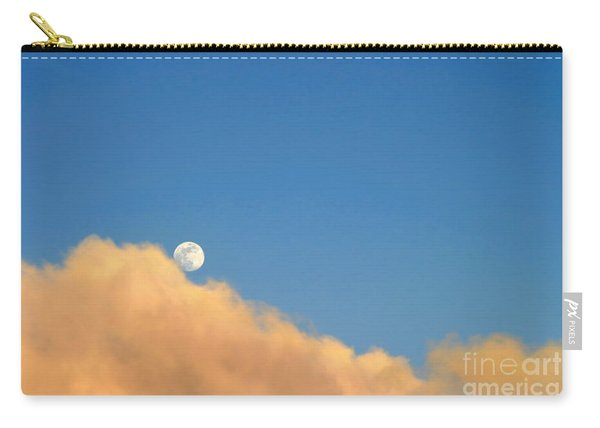 Moon At Sunset Carry-all Pouch