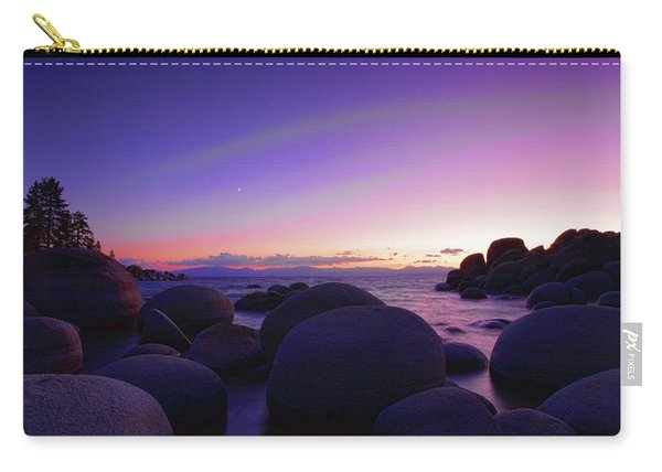 Moonrise Over Tahoe Carry-all Pouch