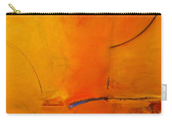 Carry-all Pouch featuring the painting Most Like Lee by Cliff Spohn