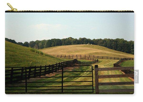 Mountain Farmland Carry-all Pouch